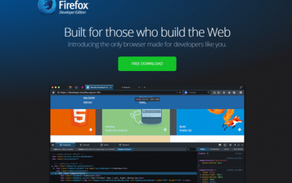Ya disponible Firefox Developer Edition, navegador web para desarrolladores