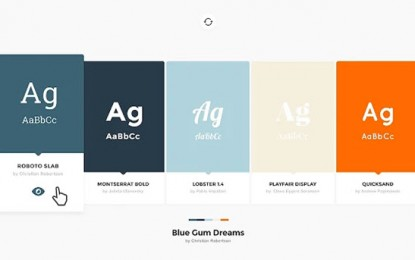Palettab, para descubrir paletas de colores y fuentes para nuestros proyectos
