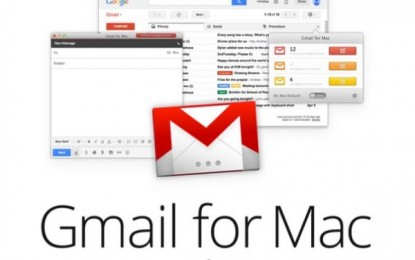 un nuevo proyecto en Kickstarter, Gmail para Mac.