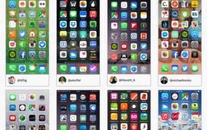 HomeScreen, una aplicación para compartir con otros la pantalla principal del iPhone