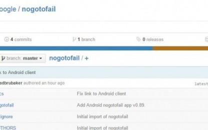 google lanza nogotofail, proyecto de código abierto para verificar la seguridad de aplicaciones y dispositivos