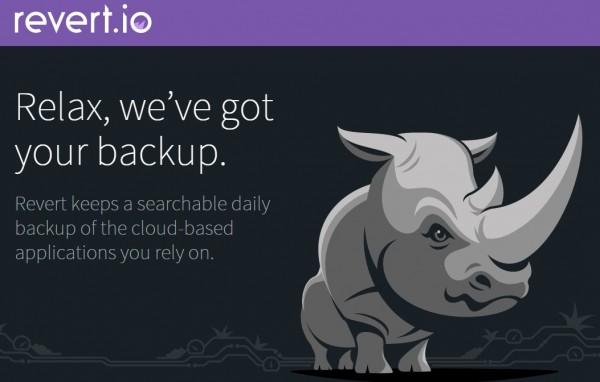 revertio, un backup de nuestras cuentas de Evernote, MailChimp, Tumblr, Dropbox…