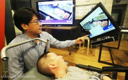 Samsung EYECAN+, mouse que se maneja con lo ojos útil para personas con parálisis, pronto open source