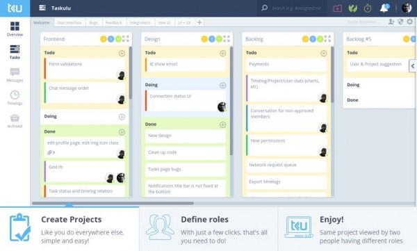 taskulu, un fantástico sistema de gestión de proyectos en la web