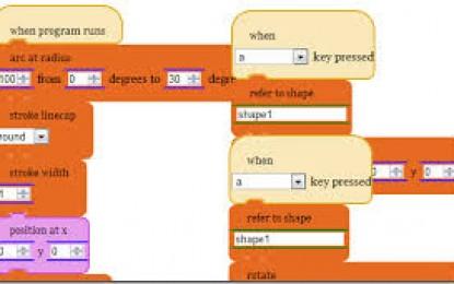 Waterbear, una aplicación web para ayudar a enseñar a programar en javascript