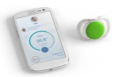 Un chupon que mide temperatura y envía datos a un móvil