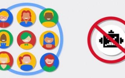 Google lanza nuevo sistema de verificación alternativo a los CAPTCHAS tradicionales