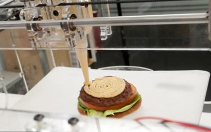 Impresora 3D de cualquier comida