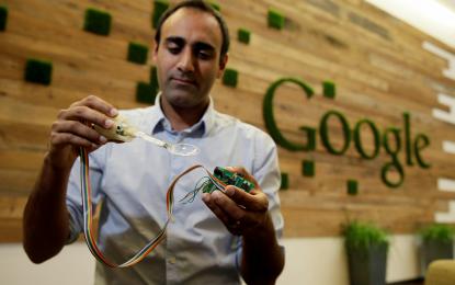 Google y sus cucharas inteligentes que ayudan a pacientes con Parkinson
