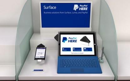 PayPal Here ya es compatible con dispositivos Windows