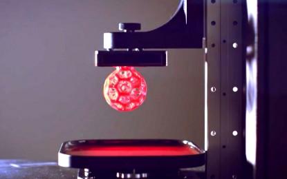 """Una nueva impresora 3D """"líquida"""" es la más rápida hasta ahora"""