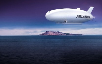 Reino Unido ya cuenta con la aeronave más grande del mundo