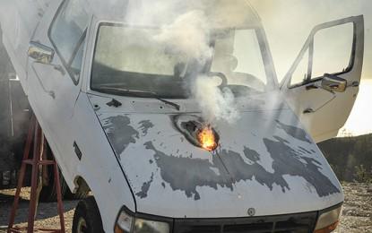 Desarrollan un arma láser capaz detener a un camión a larga distancia