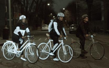 Life Paint, la nueva pintura de Volvo para proteger al ciclista