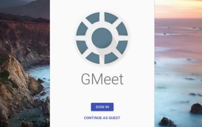 GMeet nueva herramienta de conferencias de Google que por ahora prueba en forma privada