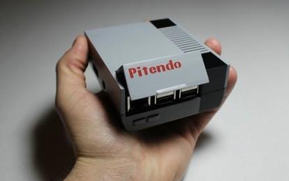 Pitendo, una consola portátil para juegos retro