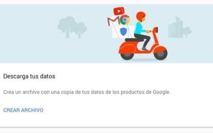 """Como usar el nuevo panel """"MI CUENTA"""" de google"""