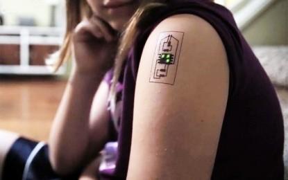 Inventan tatuajes biométricos para monitorizar la salud