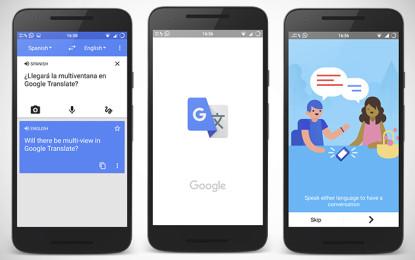 Google permitirá traducir en cualquier aplicación y con una ventana flotante