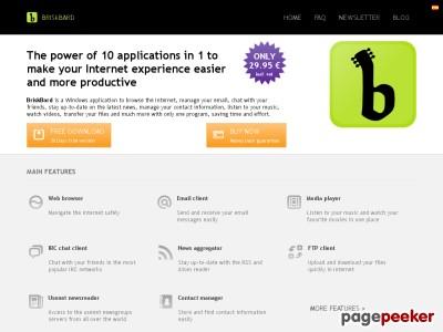 El poder de 10 aplicaciones en 1 BriskBard