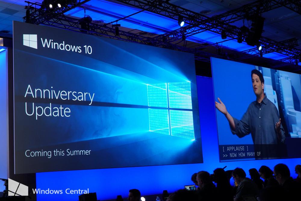 Windows 10 Anniversary Update ya estara disponible