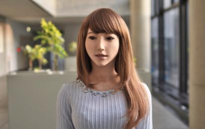Erika el androide más realista del momento