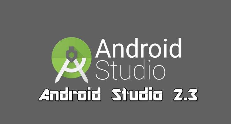 Android Studio 2.3 (versión mas reciente)