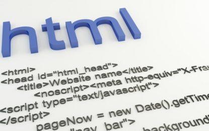 ¿Cómo insertar espacios en HTML?