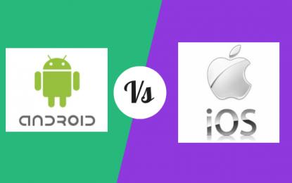 La Batalla Final: Android vs iOS