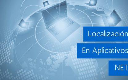 Localización en aplicativos .NET