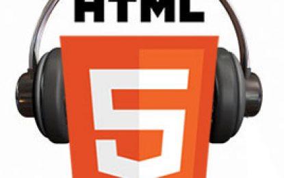 ¿Como Insertar Audio con html5?