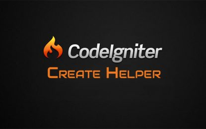 Helper en CodeIgniter