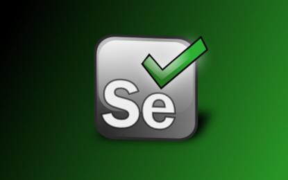 Creación de los scripts con Selenium