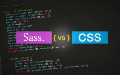 CSS vs SASS