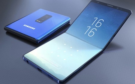 ¿Samsung plegable con pantalla de vidrio?