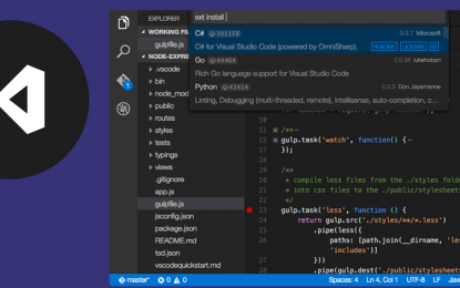 Mejoras de Visual Studio 2019