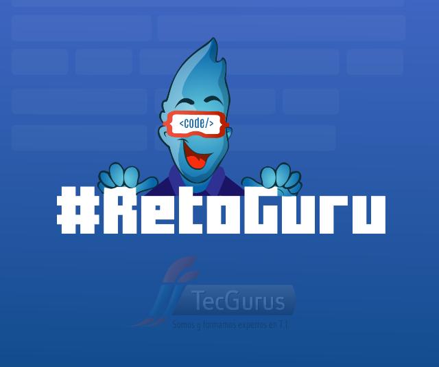 Reto Guru, el juego para poner en práctica tu nivel de programación