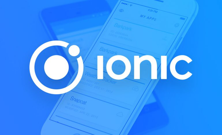 ¿Porqué IONIC es indicado para desarrollar nuevas aplicaciones?