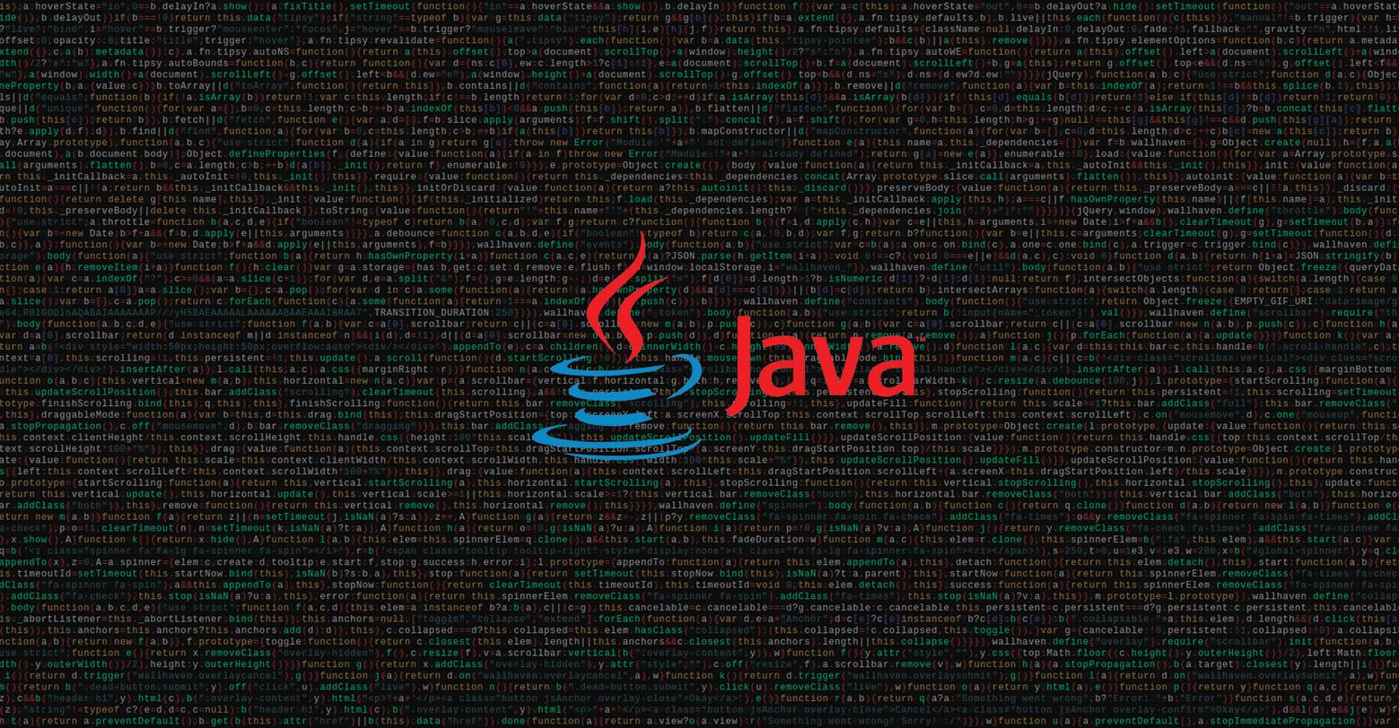 Java ¿Lenguaje universal de programación?